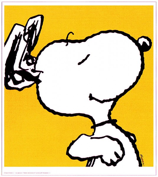 Peanuts - Snoopy - Yellow