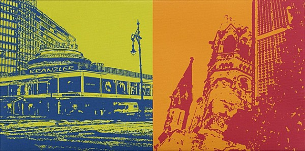 Berlin - 50 x 25 cm