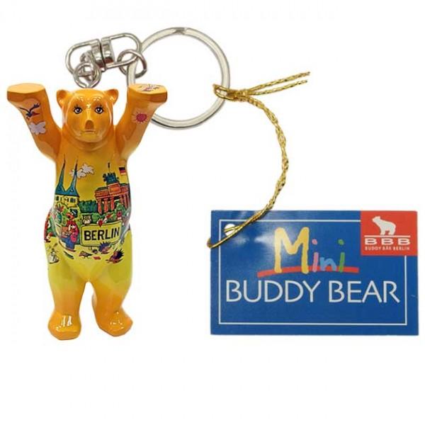 Schlüsselanhänger - Berlin Comic VI - Buddy Bear