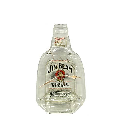 Flaschenuhr - Jim Beam