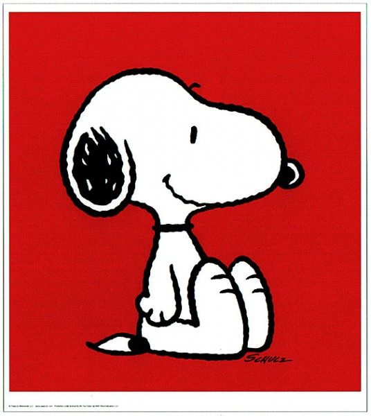 Peanuts - Snoopy - Red