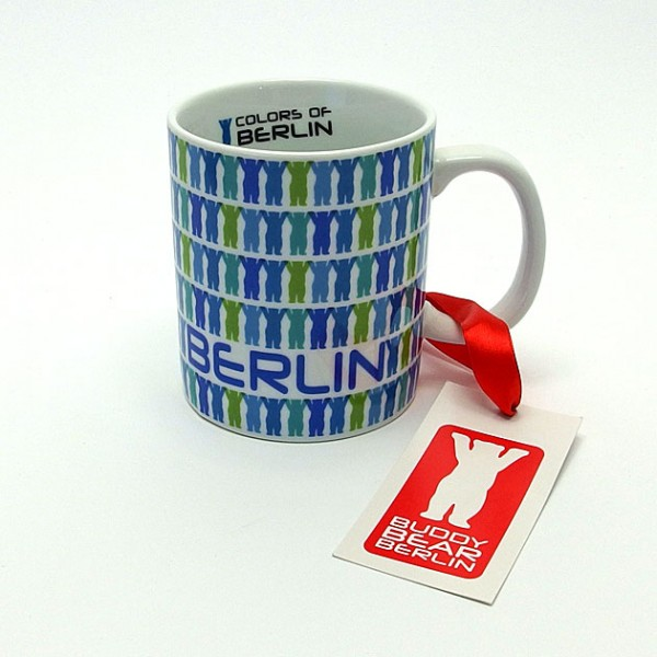 Buddy Bär Tasse - Little Buddies Blau