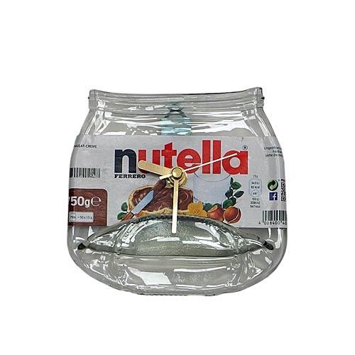 Flaschenuhr - Nutella