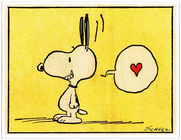 Peanuts - Heart