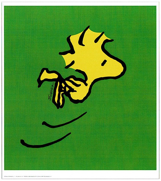 Peanuts - Woodstock - Green