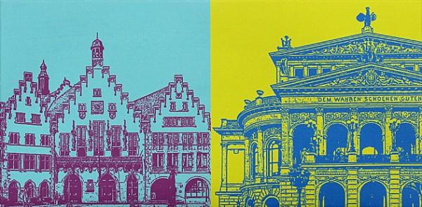 Frankfurt am Main - 60 x 30 cm