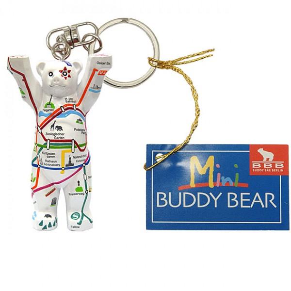 Schlüsselanhänger - Berliner Netz - Buddy Bear
