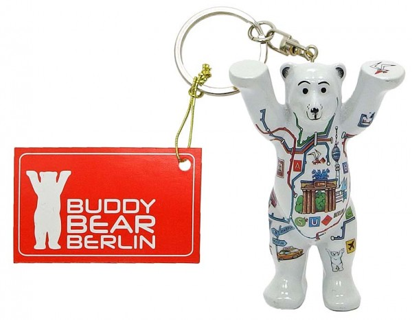 Schlüsselanhänger - Comic Netz - Buddy Bear