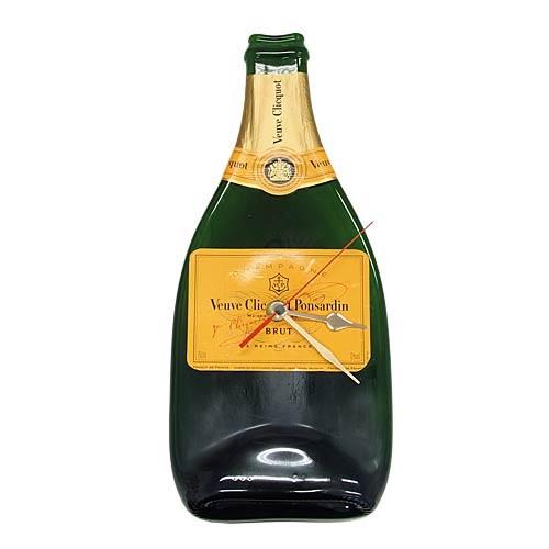 Flaschenuhr - Champagner