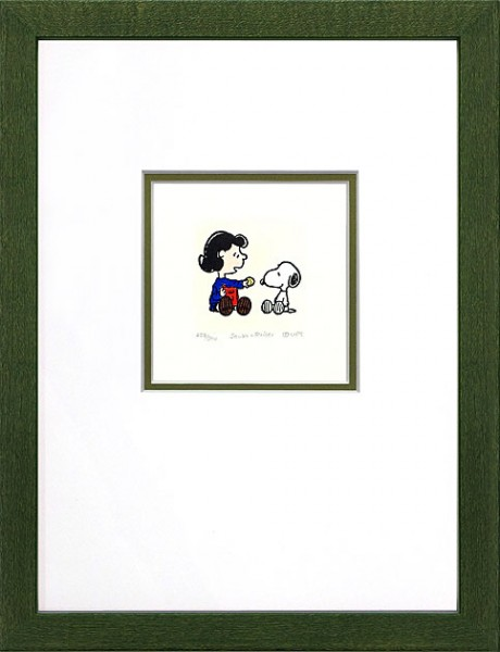 Peanuts - Lucy + Snoopy