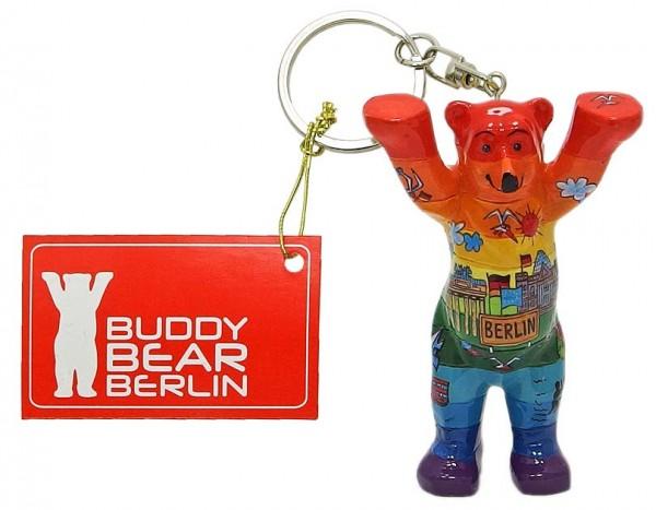 Schlüsselanhänger - Comic Spektrum - Buddy Bear