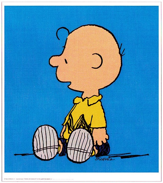Peanuts - Charly Brown - Blue