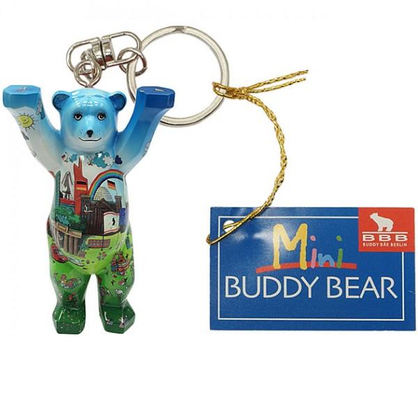 Schlüsselanhänger - Berlin Comic I - Buddy Bear