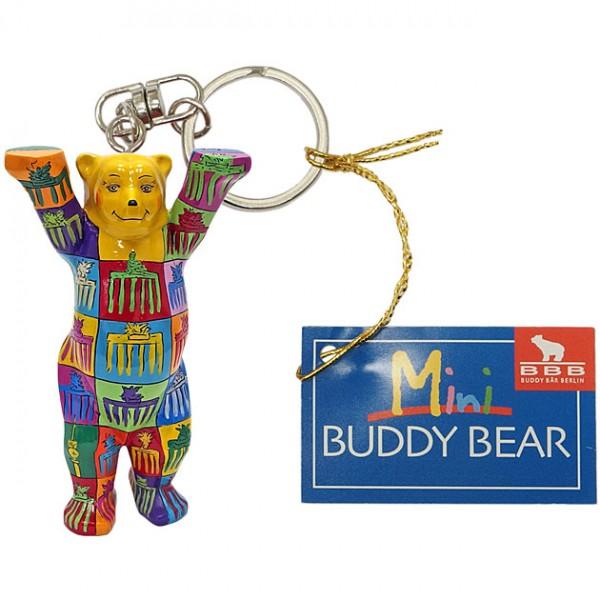 Schlüsselanhänger - Brandenburg Gate I - Buddy Bear