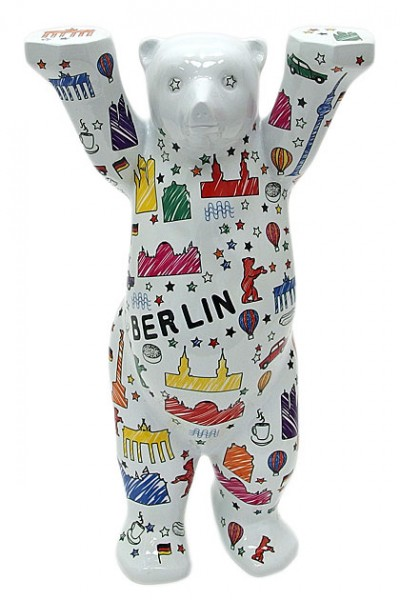Berlin Scribble - Buddy Bear