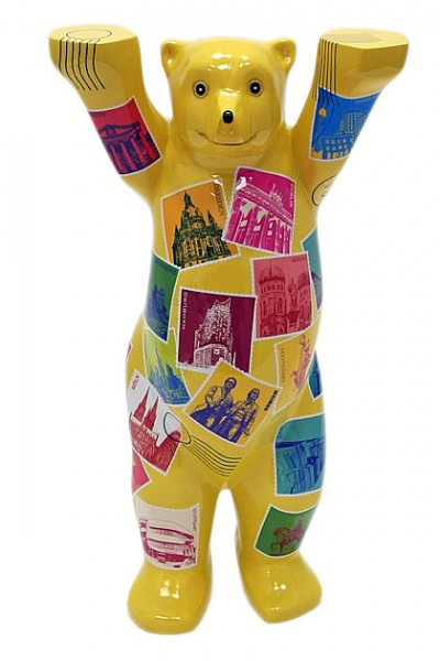 German Stamps - Buddy Bear