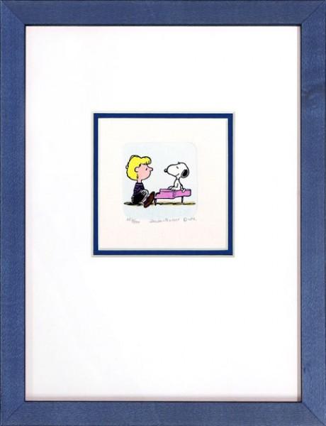 Peanuts - Snoopy + Schroeder