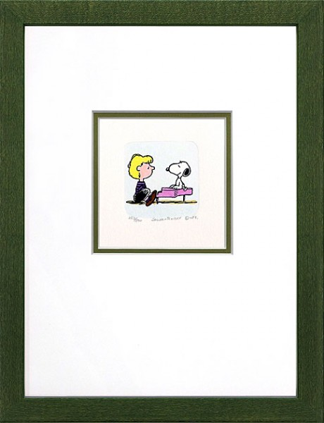 Peanuts - Snoopy + Schroeder