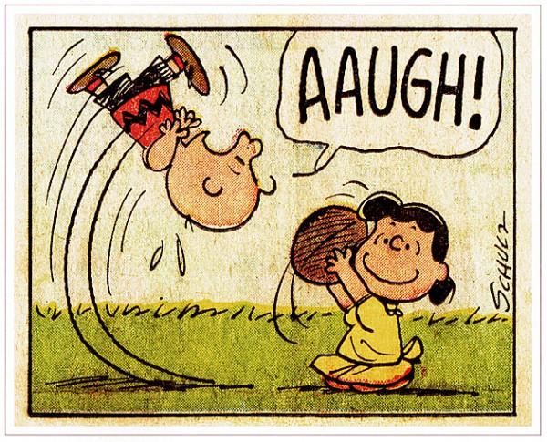 Peanuts - Aaugh