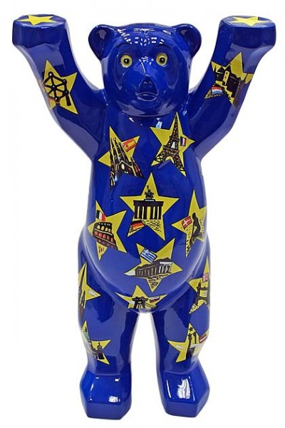 Stars On Blue - Buddy Bear