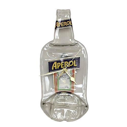 Flaschenuhr - Aperol