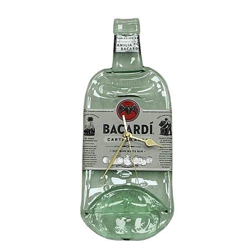 Flaschenuhr - Bacardi
