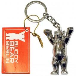 Schlüsselanhänger - Buddy Bär Metallic 3D