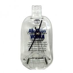 Flaschenuhr - Absolut Wodka